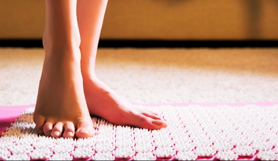 How does the acupressure Mats work