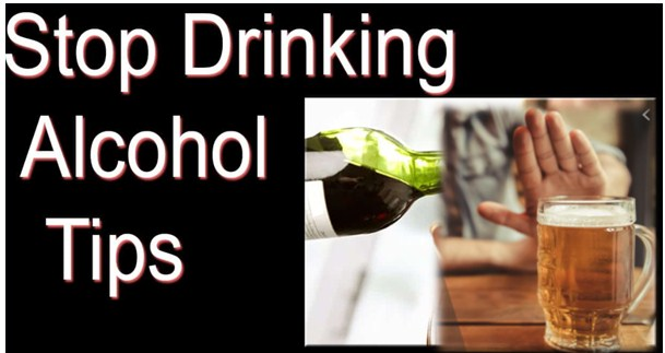 Tips for stopping drinking alcohol